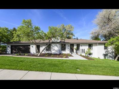 Bountiful Single Family Home For Sale: 1344 E Lakeview Dr S