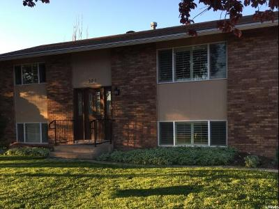 Clearfield Single Family Home Under Contract: 321 W 2300 S