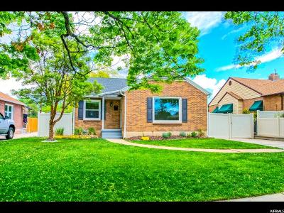 Sugar House Single Family Home For Sale: 1431 E Zenith Ave
