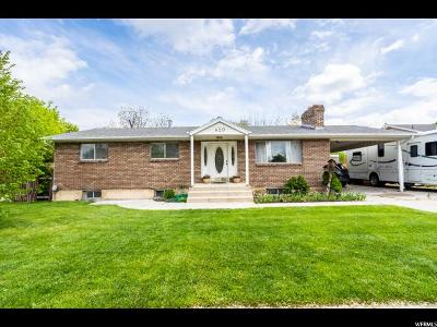 Payson Single Family Home Under Contract: 420 N 150 W