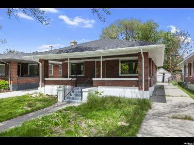 Salt Lake City Single Family Home For Sale: 227 E Hubbard Ave S