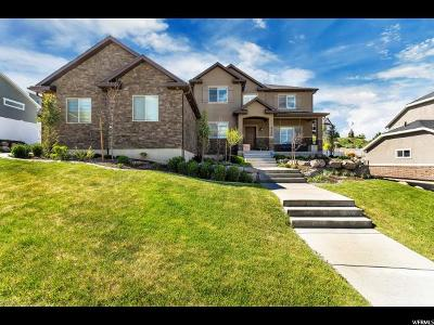 Herriman Single Family Home Backup: 5176 W Rolling Brook Dr S