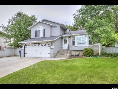 Sandy Single Family Home Under Contract: 1022 E Broken Ridge Ct