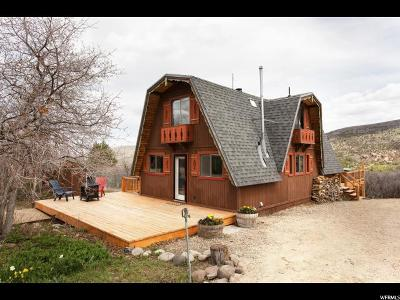 Wasatch County Single Family Home Under Contract: 1607 S Tree Top Ln