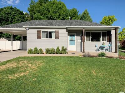 South Ogden Single Family Home Under Contract: 3949 S Evelyn Rd