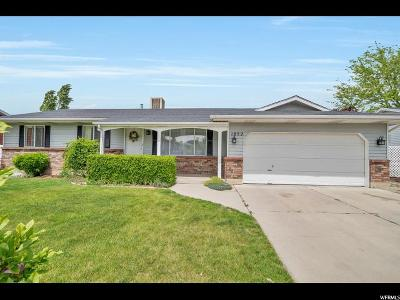 Orem Single Family Home For Sale: 1052 W 1340 N