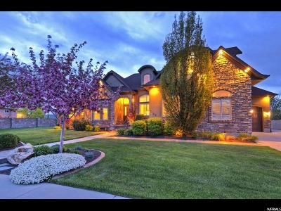 South Jordan Single Family Home For Sale: 3182 W Bison Ridge Rd