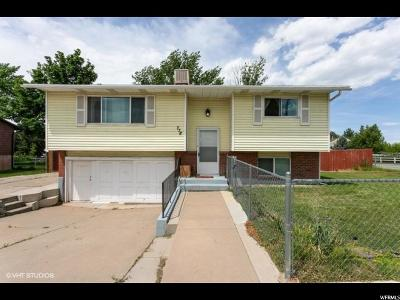 Clearfield Single Family Home Under Contract: 778 N 750 W