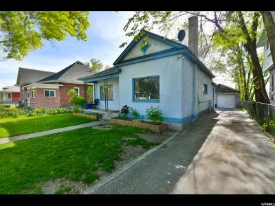 Salt Lake City Single Family Home For Sale: 1738 S West Temple W