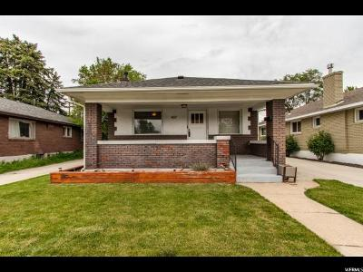 Salt Lake City Single Family Home For Sale: 407 E Hollywood Ave