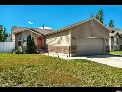 Tooele Single Family Home Under Contract: 625 W 890 N
