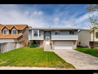 West Jordan UT Single Family Home Backup: $265,000