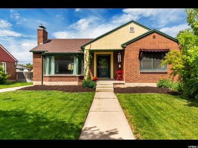 Sugar House Single Family Home Backup: 2704 S Grandview Cir E