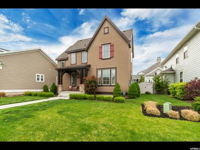 South Jordan Single Family Home For Sale: 4633 W Vermillion Dr