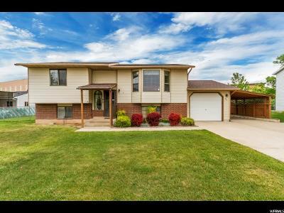 Layton Single Family Home For Sale: 61 E 525 N