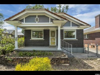 Salt Lake City Single Family Home For Sale: 668 E Kensington S