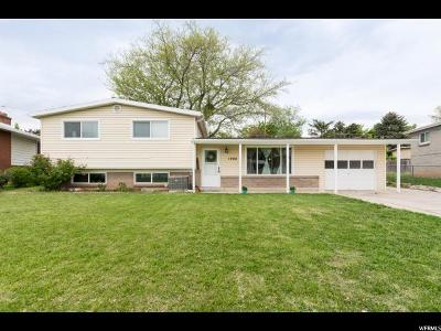Layton Single Family Home Under Contract: 1998 W Afton Cir