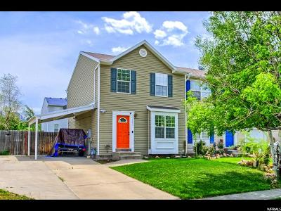 Tooele County Townhouse Under Contract: 283 Alfred Dr W