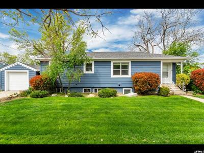 Salt Lake City Single Family Home For Sale: 2876 S 1100 E