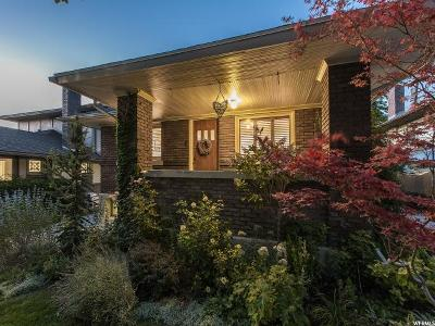 Salt Lake City Single Family Home For Sale: 1357 E Thornton Ave