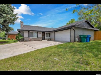 Orem Single Family Home Under Contract: 206 N 210 W