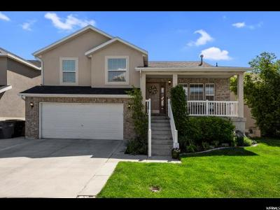 South Jordan Single Family Home Under Contract: 10891 S Poplar Brook Pl W