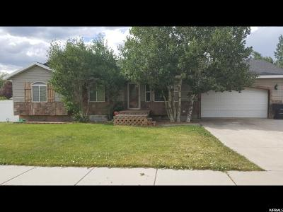Heber City Single Family Home For Sale: 1066 W 825 S
