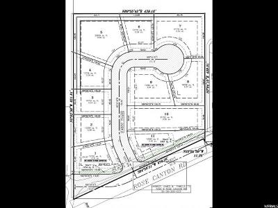 Herriman Residential Lots & Land For Sale: 7336 W Rose Canyon Rd S