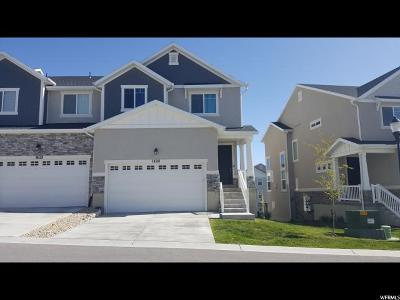 Herriman Townhouse For Sale: 14561 S Juniper Shade Dr W