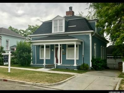 Salt Lake City Single Family Home For Sale: 618 E 4th Ave