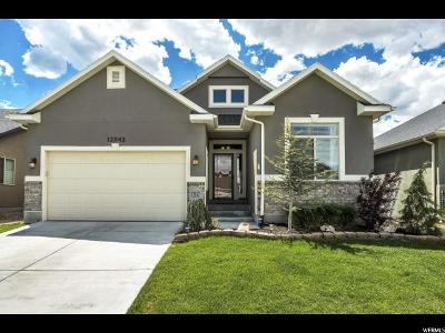 Riverton Single Family Home For Sale: 12842 S Wild Mare Way W