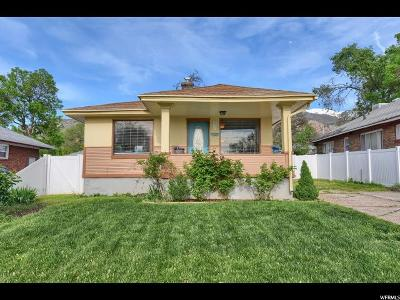Ogden Single Family Home For Sale: 2822 S Fowler E