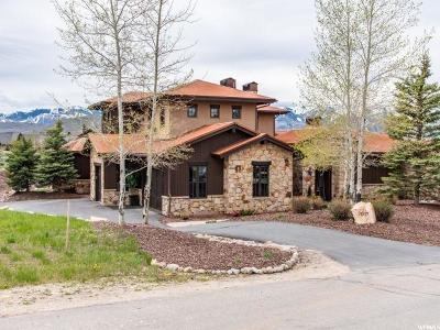 Park City Single Family Home For Sale: 2007 Saddlehorn Dr