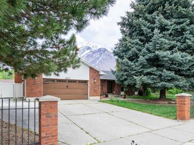 Salt Lake City Single Family Home For Sale: 6323 Lombardy Dr