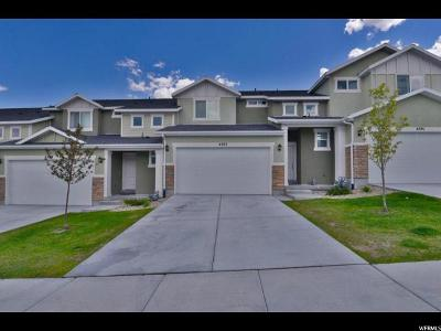 Herriman Townhouse For Sale: 4387 W Autumn Path Ct S