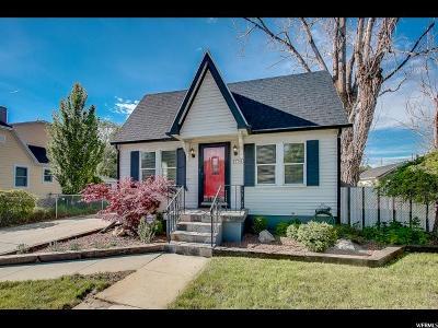 Sugar House Single Family Home For Sale: 1778 E Redondo Ave