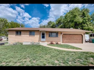 Clearfield Single Family Home For Sale: 740 W 450 N