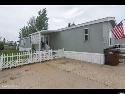 Clearfield Single Family Home For Sale: 1209 W 400 N #49