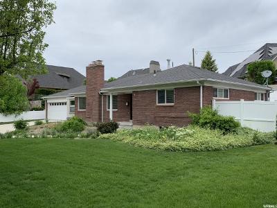Holladay Single Family Home For Sale: 2135 E Suada Dr