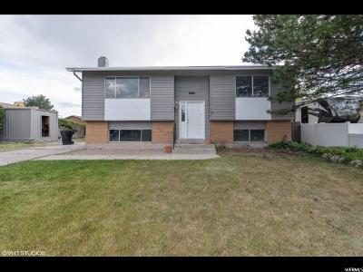 Salt Lake City Single Family Home For Sale: 5056 S 5450 W