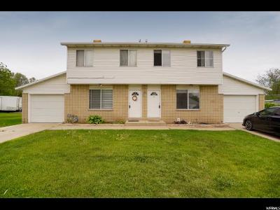 Clearfield Multi Family Home For Sale: 672 E 950 S