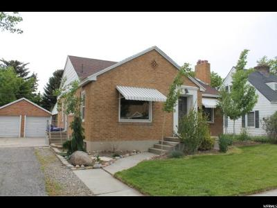 Midvale Single Family Home Under Contract: 7588 S Jefferson St W