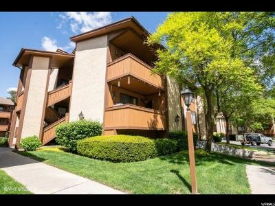 Midvale Condo Under Contract: 6852 S Countrywoods Cir E #5D