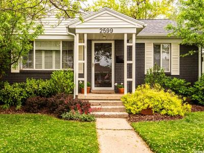 Salt Lake City Single Family Home Under Contract: 2599 E Elm Ave
