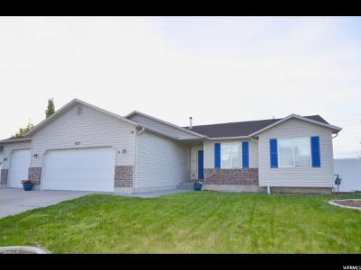 Tooele County Single Family Home For Sale: 637 E 980 N