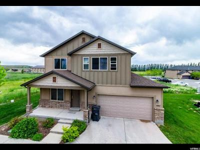 Santaquin Single Family Home Under Contract: 983 N 90 W