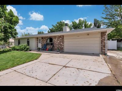 Sandy Single Family Home Under Contract: 9163 S Peach Blossom Dr E