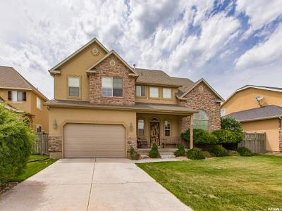 Eagle Mountain Single Family Home For Sale: 8777 N Clubhouse Ln