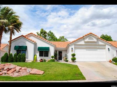 St. George Single Family Home For Sale: 39 N Valley View Dr #15