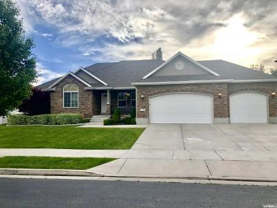 South Jordan Single Family Home For Sale: 11298 S Slate View Dr